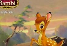 最适合学英语的50部动画电影之《小鹿斑比》,双语字幕可切换,迪士尼电影下载-颜夕夕萌物馆_儿童早教一站就够了