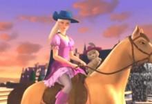 [芭比公主]芭比与三个火枪手Barbie And The Three musketeers 英语中文字幕-颜夕夕萌物馆_儿童早教一站就够了