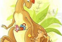 《小袋鼠的故事》——自编故事:充满爱和接纳-颜夕夕萌物馆_儿童早教一站就够了