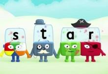 儿童自然拼读启蒙英语动画:BBC积木英语 字母积木 Alphablocks 1-4季全套下载-颜夕夕萌物馆_儿童早教一站就够了