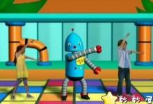 迪士尼10集短动画:《舞蹈机器人 Dance-A-Lot Robot》,真人加动画教小朋友跳舞-颜夕夕萌物馆_儿童早教一站就够了