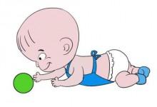 宝宝成长需知!三个月宝宝发育特点 树袋宝宝来揭秘-颜夕夕萌物馆_儿童早教一站就够了
