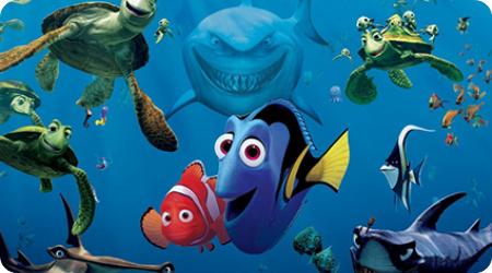 详的同样是海底世界为蓝本的动画电影《海底总动员》