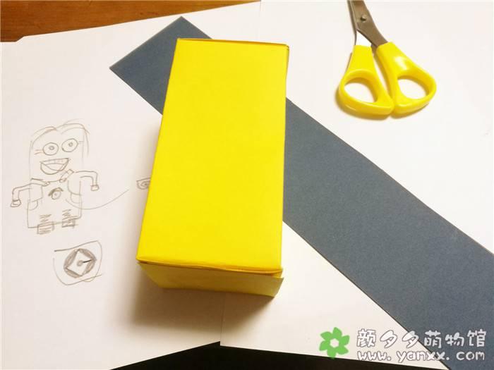 [手工作品分享]用药盒子给女儿做的各种小玩意之小黄人图片 No.1