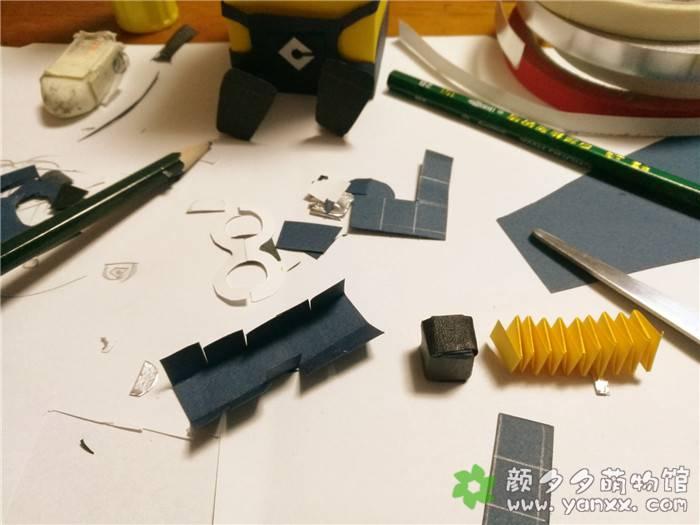[手工作品分享]用药盒子给女儿做的各种小玩意之小黄人图片 No.2