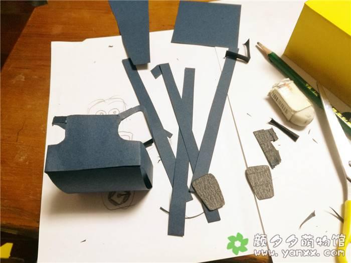 [手工作品分享]用药盒子给女儿做的各种小玩意之小黄人图片 No.3