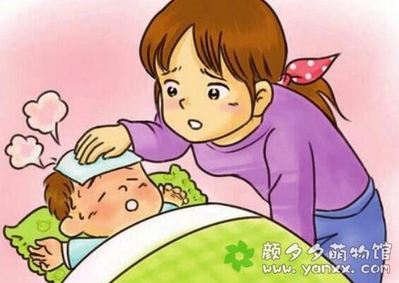 孩两岁的宝妈分享:孩子发烧时的护理图片