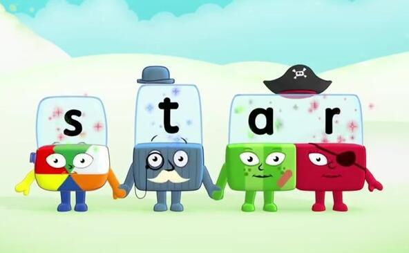 儿童自然拼读启蒙英语动画:BBC积木英语 字母积木 Alphablocks 1-4季全套下载图片 No.1